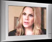 Mary McCormack videos, In plain sight, sound clips, video clips, video archive